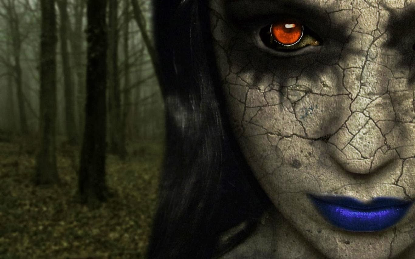 Most Inspiring Wallpaper High Quality Horror - Horror-Lady-Face-HD-Wallpaper-www  Pictures_375745.jpg