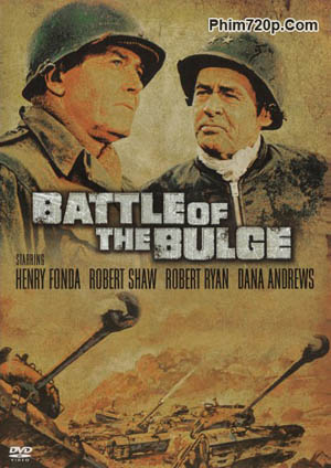 Battle Of The Bulge 1965 poster