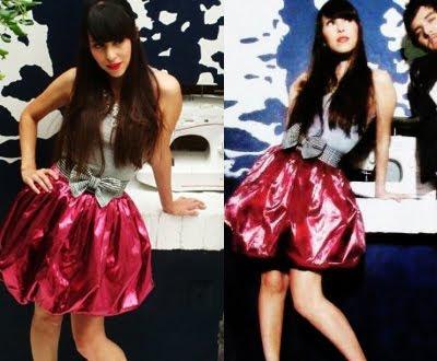 etiquetas belanova cherry project denisse dulce beat falda falda retro