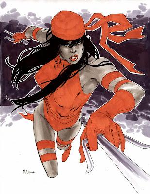 elektra marvel comics - elektra character