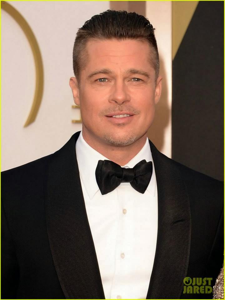 Brad Pitt: Oscar 2014 брэд питт оскар