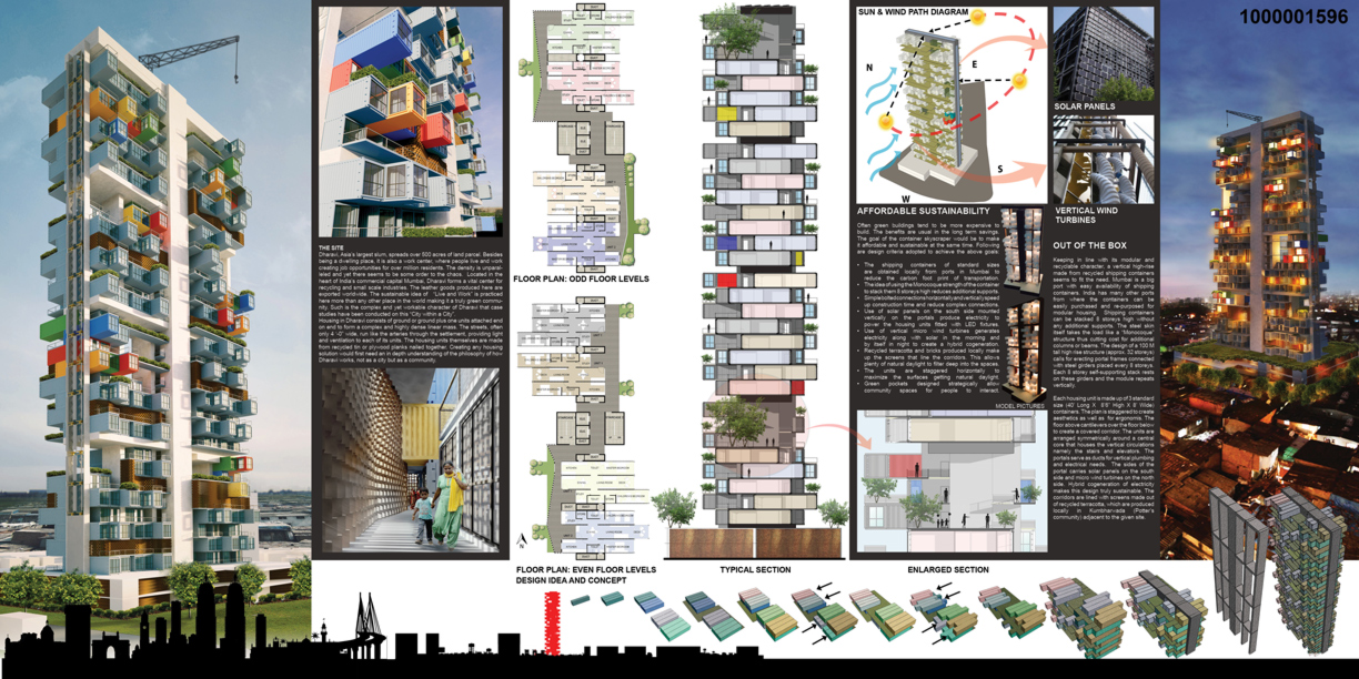 11-Submission-to-SuperSkyScrapers-Ganti-and-Associates-Architecture-Recycled-Container-Skyscraper-Homes-www-designstack-co