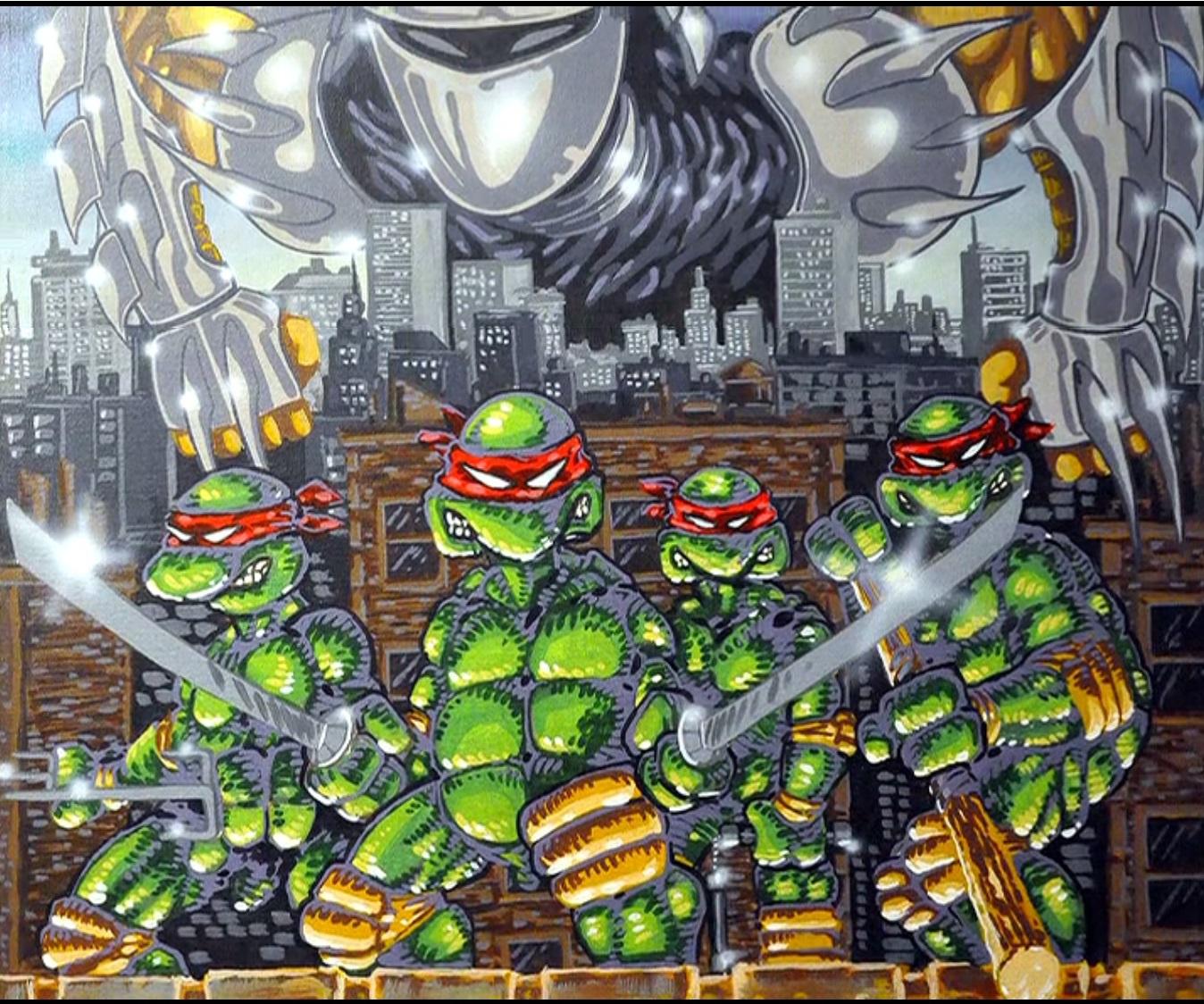 Asombroso Páginas De Color De Tortugas Ninja Embellecimiento ...