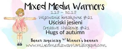 Mixed Media Warriors Winner