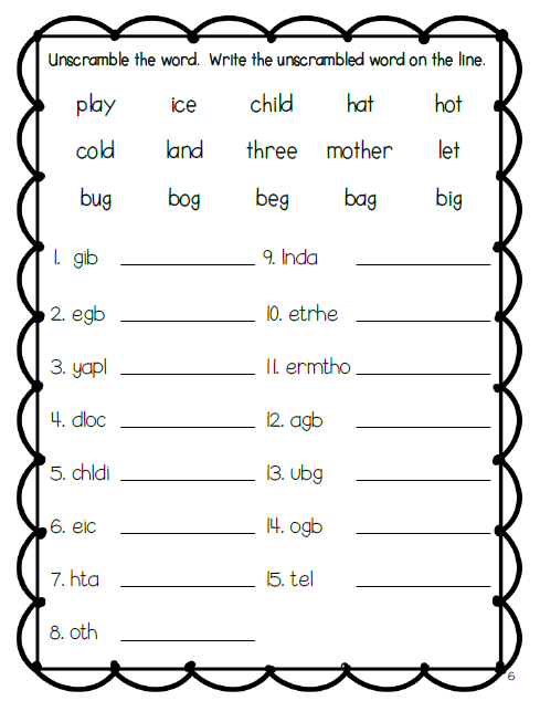 Common Worksheets » How To Teach Spelling To Kindergarten ...
