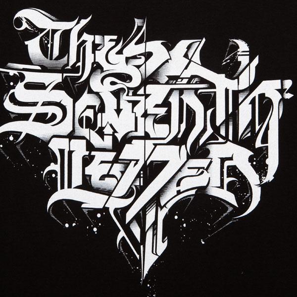 Art design graffiti letters calligraphy