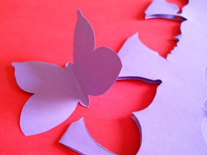Farfalle decorative per pareti trendy specchi adesivi for Farfalle decorative per muri