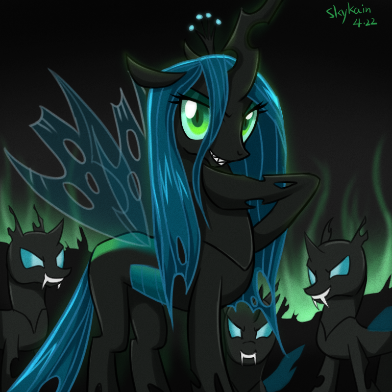 for both queen chrysalis and princess cadence up for all of you peopleQueen Chrysalis X Princess Cadence