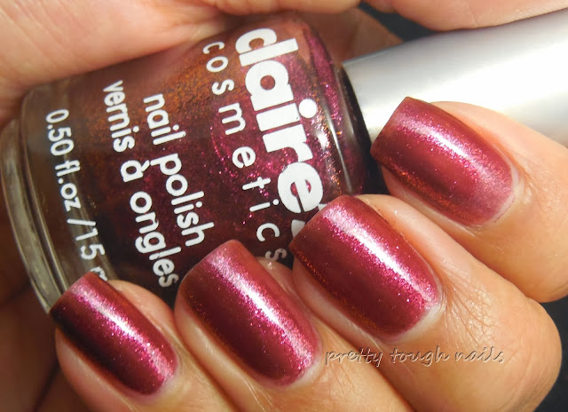Claire's Cosmetics Poison Apple Swatch And Review