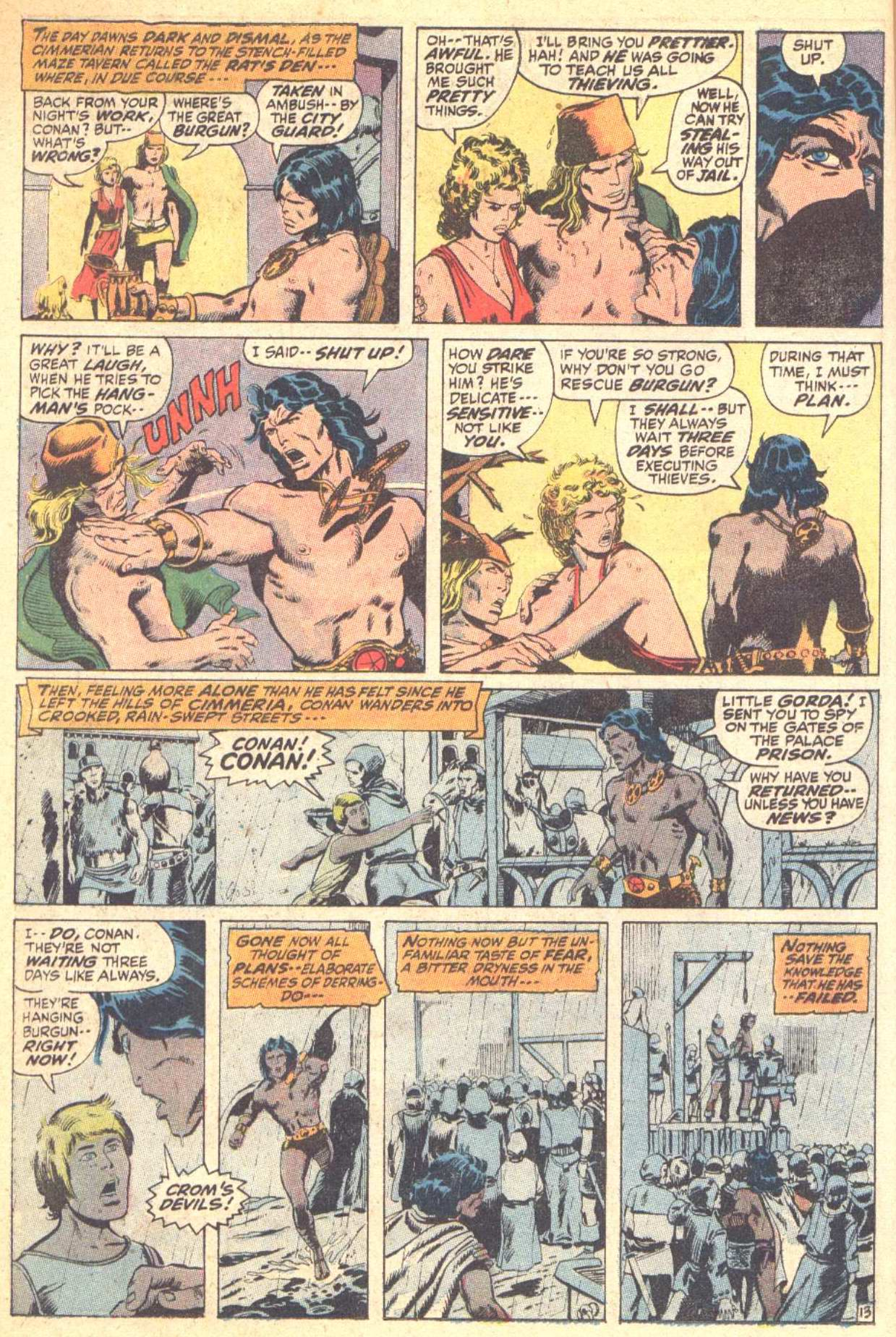 Conan the Barbarian (1970) Issue #10 #22 - English 14