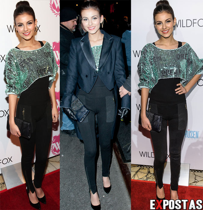 Victoria Justice: Wildfox Couture fashion week event - 06 de Fevereiro de 2013