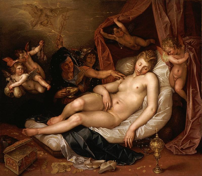 Hendrick Goltzius 1558-1617 | Dutch Baroque Era painter