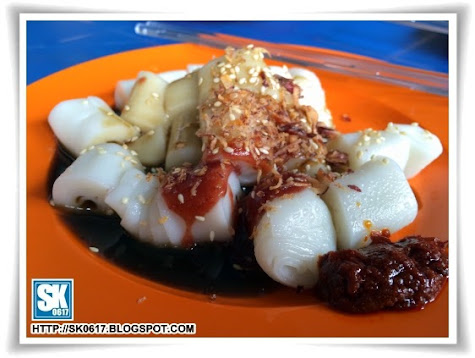 Penang Street Food - Cheong Fun with Prawn Paste
