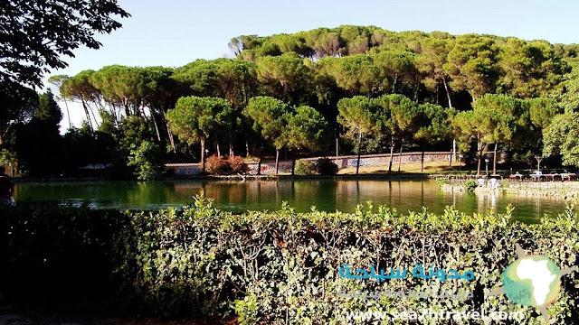 حديقة فيلا أدا السياحية في روما