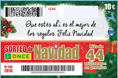 Sorteo navidad once 2016