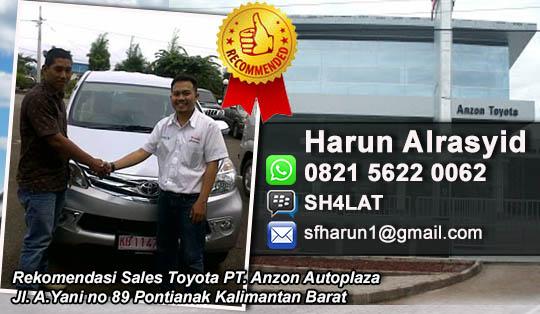 Rekomendasi Sales Anzon Toyota Pontianak