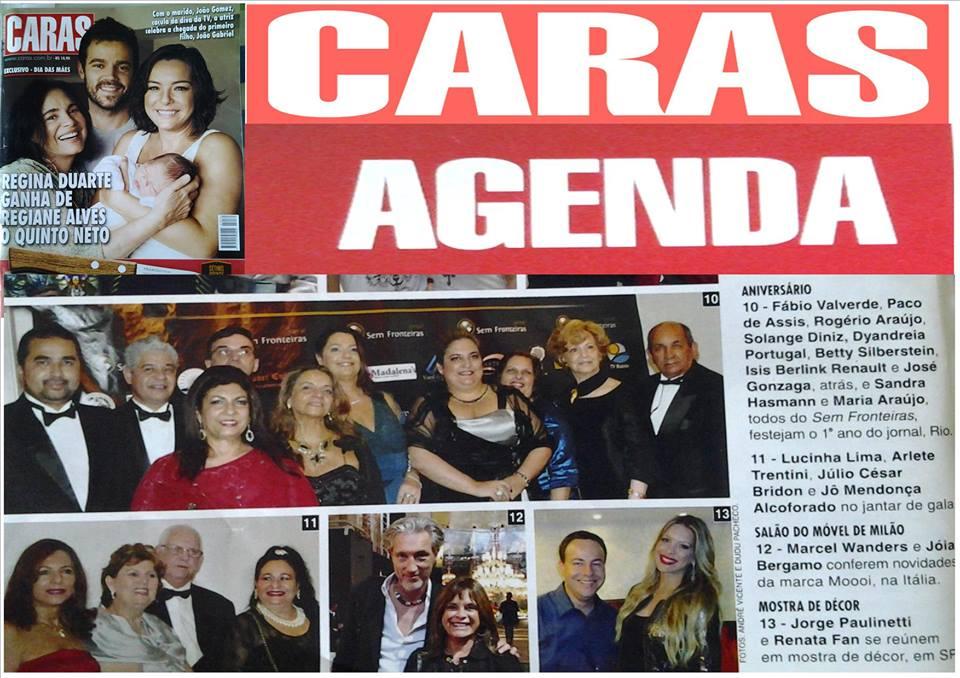 Na revista CARAS...