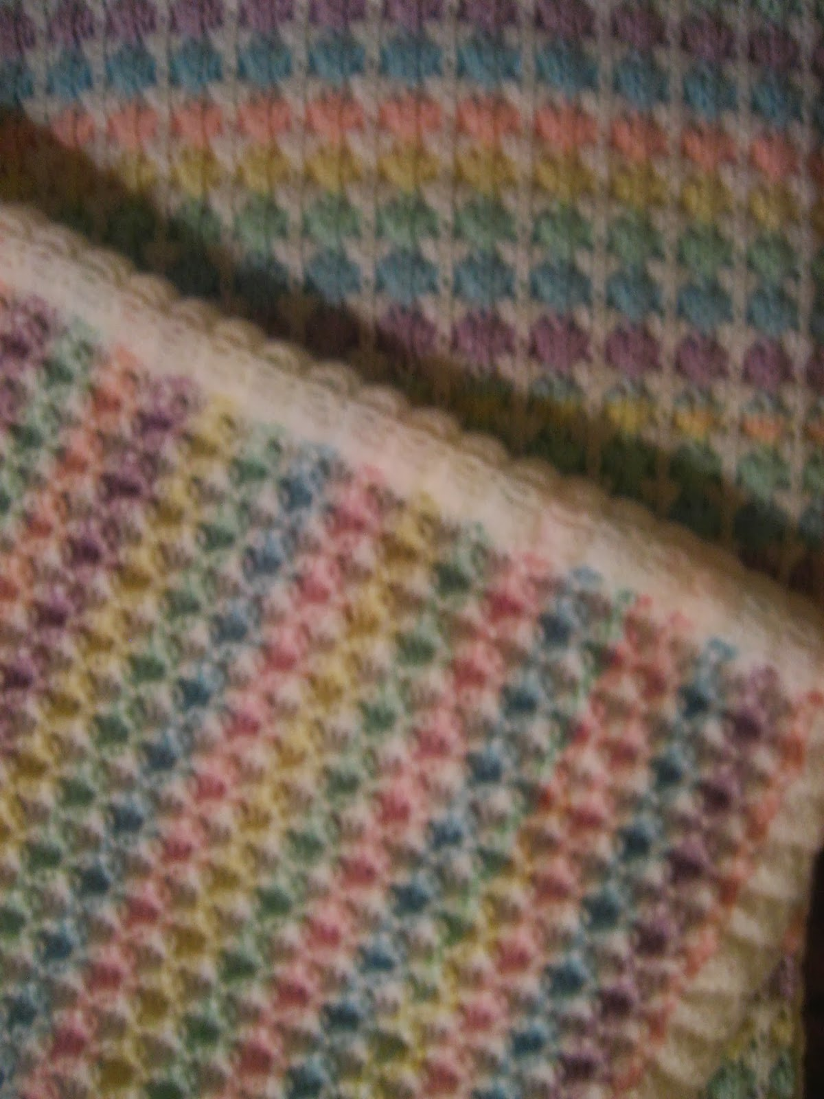 Best Knitting Stitch For Baby Blanket : Diana natters on... about machine knitting: Newtons Knits Spring Fling -...