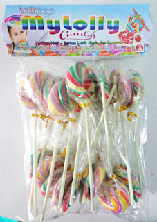 NU PRODUCT MY LOLLY CANDY
