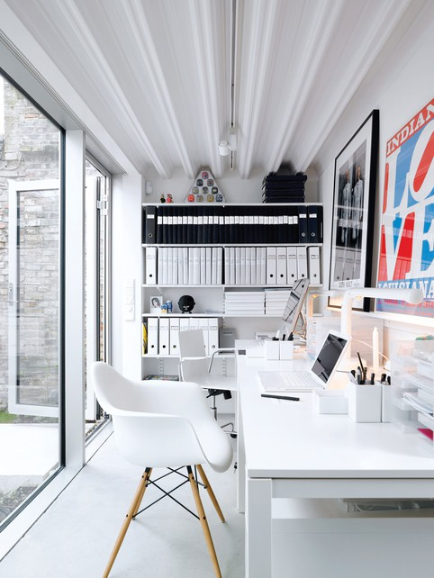 tidy and organized home offices and workspaces to motivate you