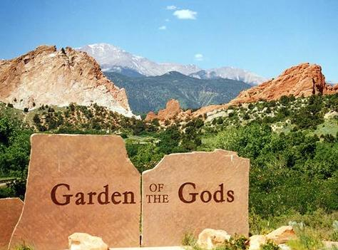 Garden of the gods usa great panorama picture - Garden of the gods colorado springs co ...