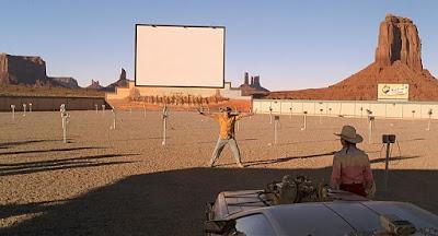 back to the future regreso al futuro 3 III drive-in theatre theatre autocine doc marty emmett brown mcfly volver al