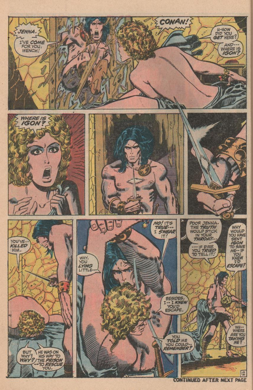 Conan the Barbarian (1970) Issue #11 #23 - English 16