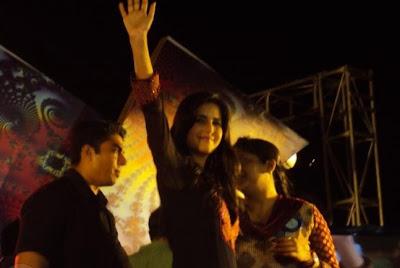 Katrina Kaif on the sets of STV Launch Pics
