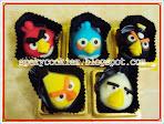 Coklat Angry Bird