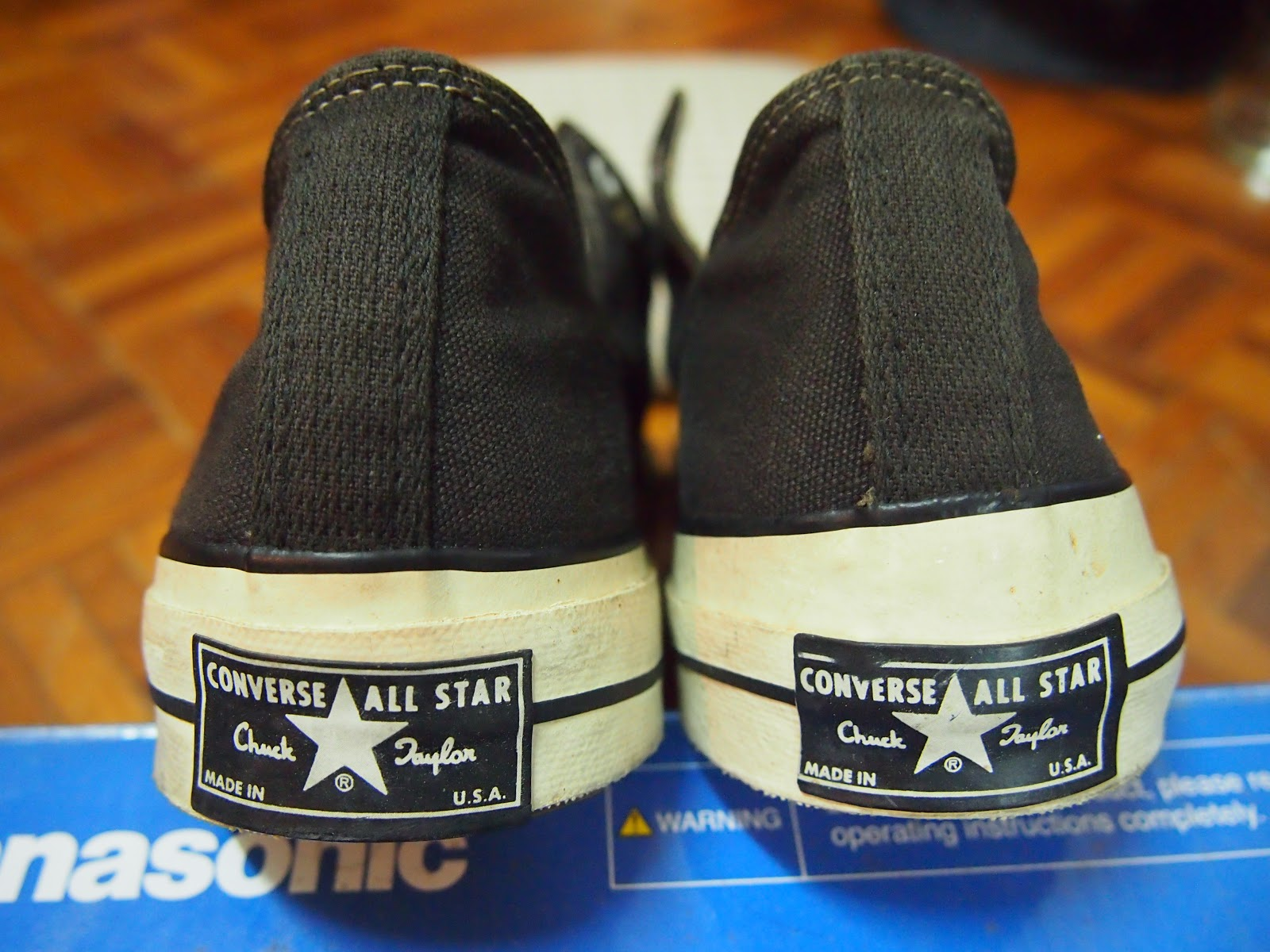Vintage CONVERSE ALL STAR - Made in USA