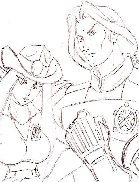 Galaxy Rangers por HeartofObsidian