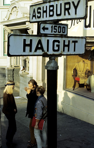 I was born in the Haight in 1965.