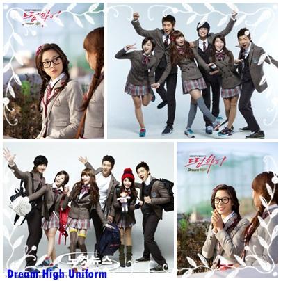 sekolah yang ada di drama korea DreamHigh . Ini ni.. drama ...