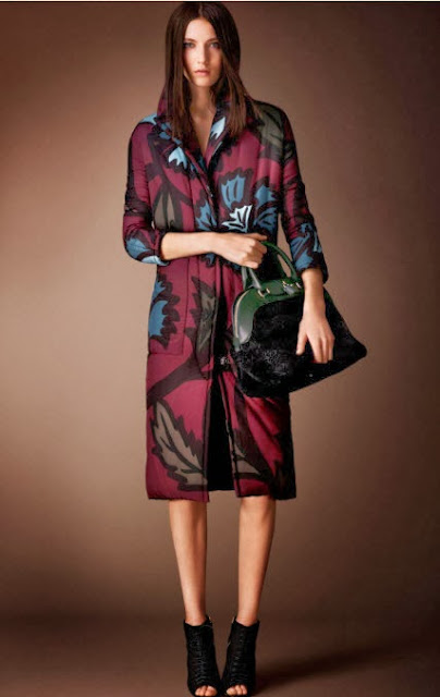 Burberry Prorsum Pre-Fall 14 Coat
