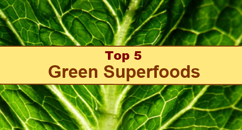 green superfoods list