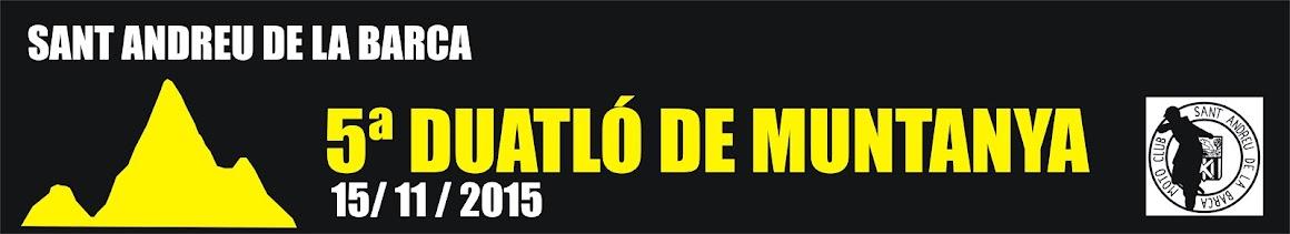 V DUATLÓ DE MUNTANYA - SANT ANDREU DE LA BARCA