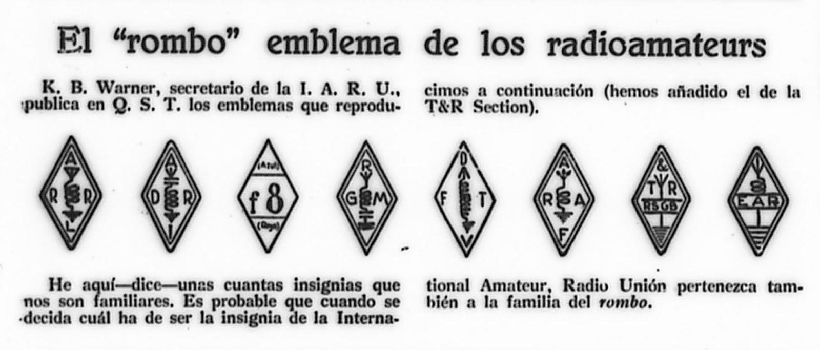 Primeras asociaciones de radioaficionados en el mundo
