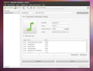 Ubuntu gyüjtemény kezelő