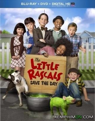 Bọn Trẻ Ranh Cứu Cả Nhà HD Lồng tiếng - The Little Rascals Save the Day