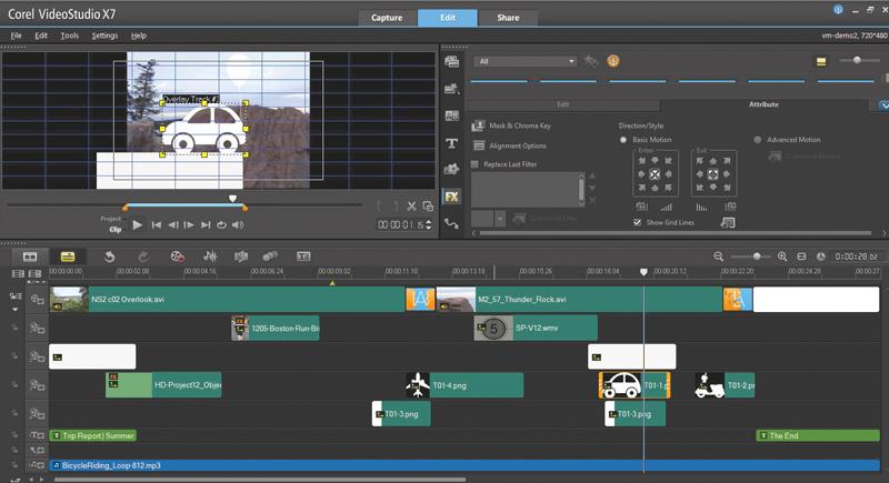 Corel VideoStudio Ultimate X7 Free Download - Full Version ...