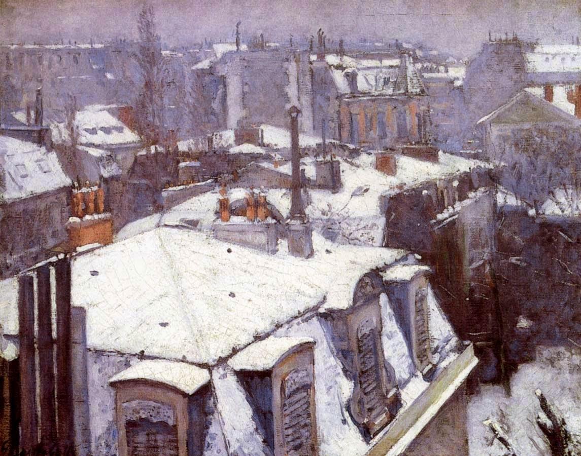 Athenae Noctua: Inverni ad arte: la neve sui tetti