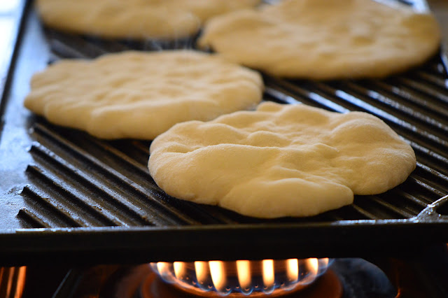 flatbread, recipe, griddle, cooking, stovetop