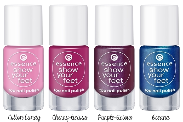 Essence ''Show Your Feet'' Trend Edition Toe Nail Polish