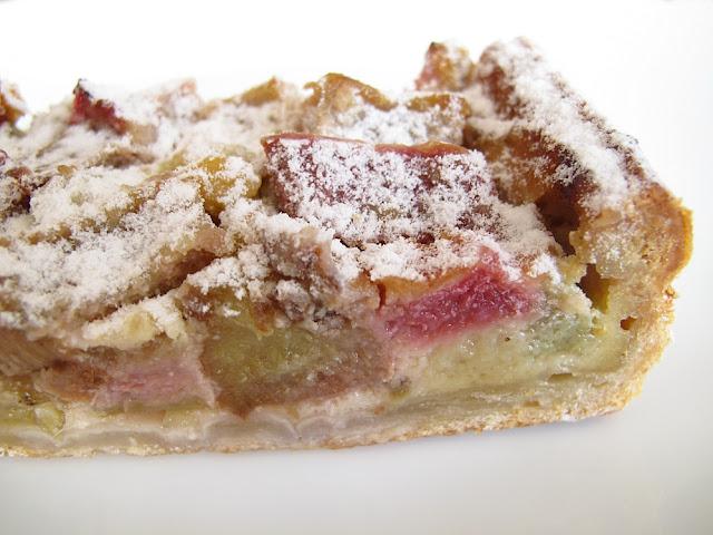 Boulangerie Dominique Saibron - Tarte rhubarbe