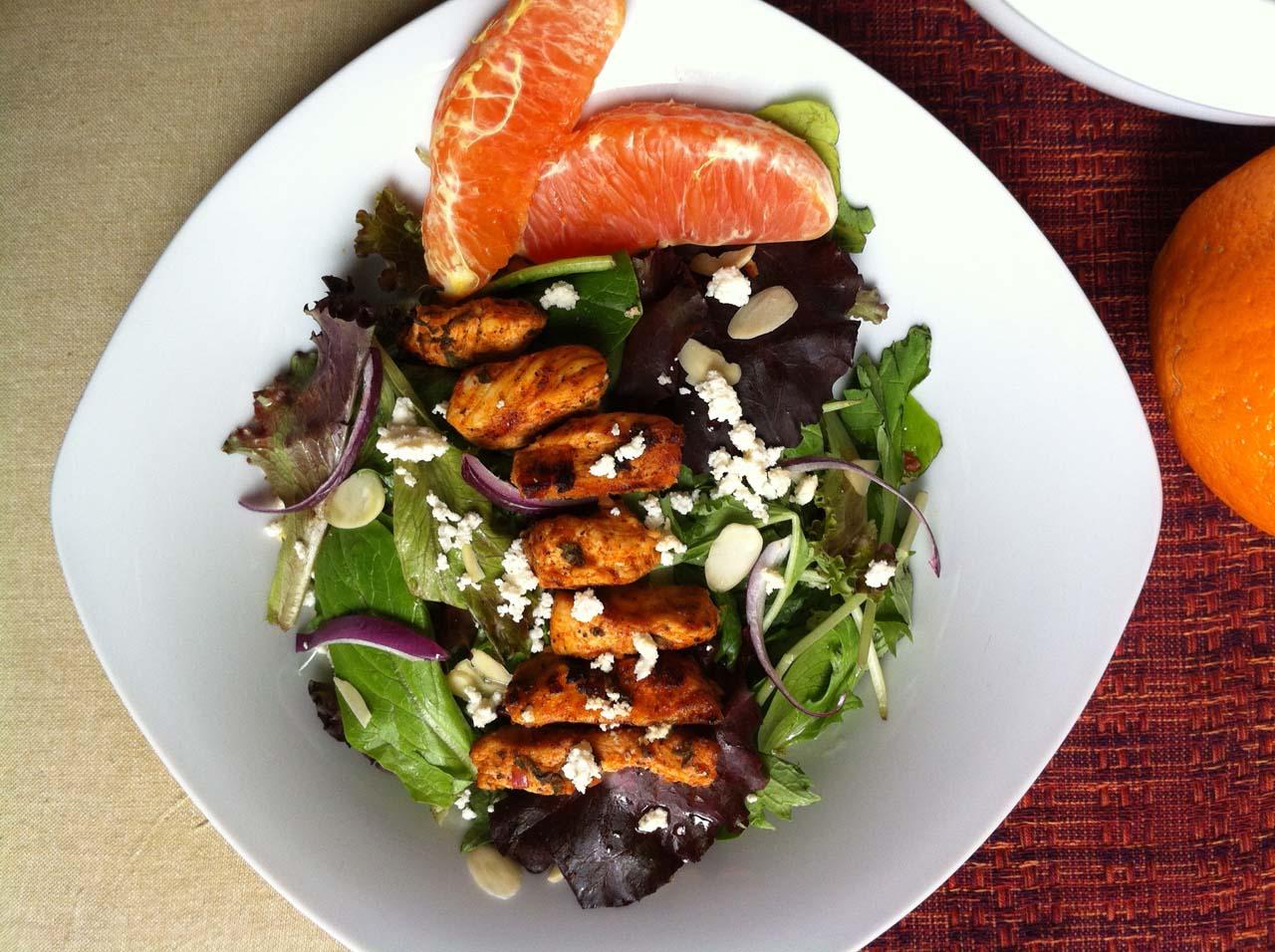 Warm Cajun Chicken Salad | Helen's healthy living dream cuisine