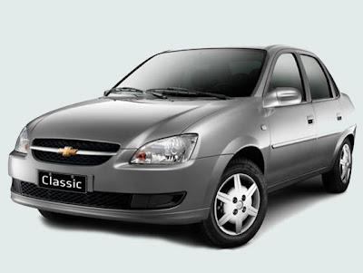 Chevrolet Classic 2013 ganha airbag duplo e freios ABS como opcionais