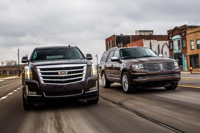 XtremeCollectionsAutoZone NEWS DRIVEN 2015 Cadillac Escalade vs