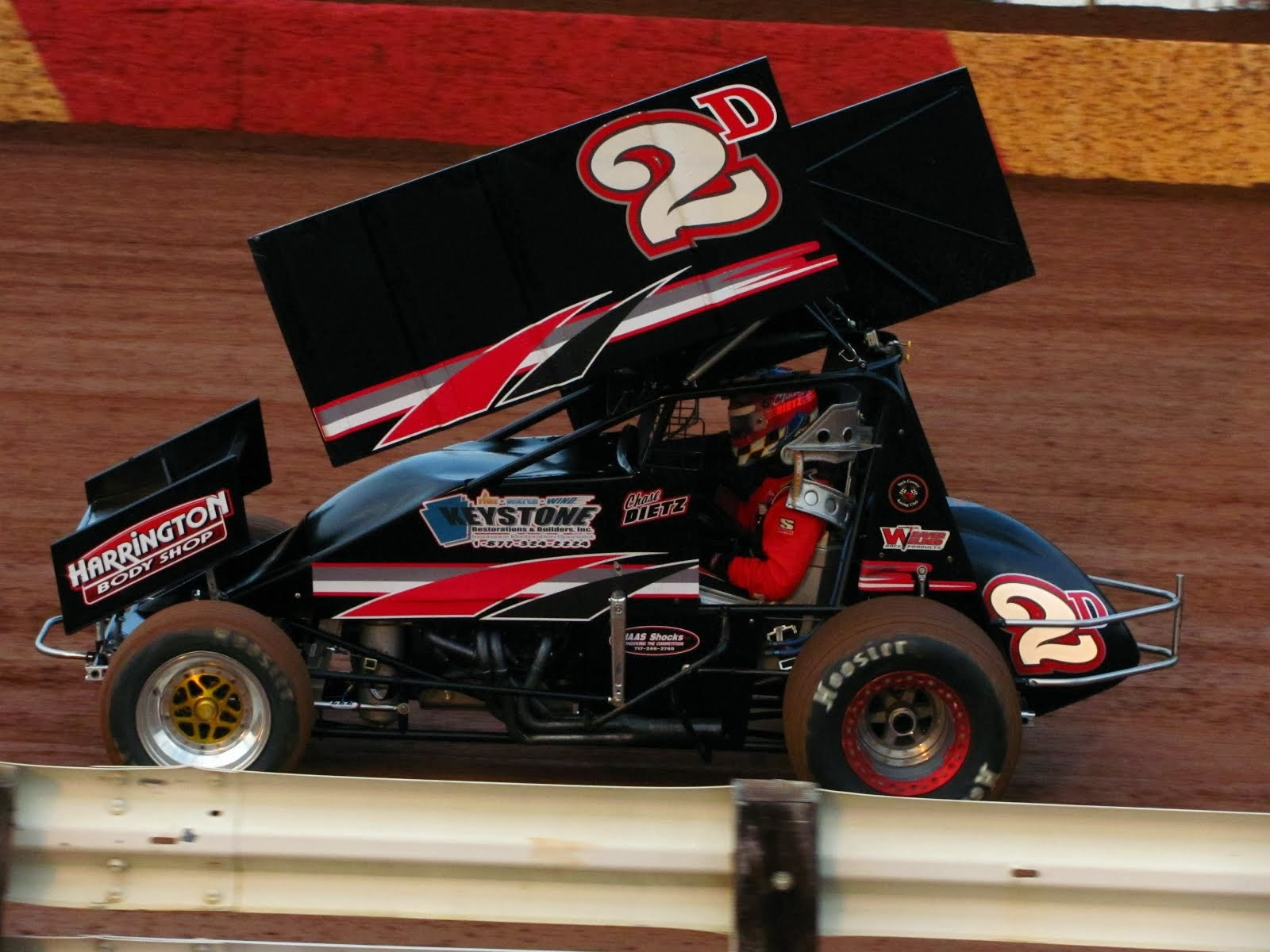 2013 Central PA 358 Point Series Rookie of the Year Chase Dietz
