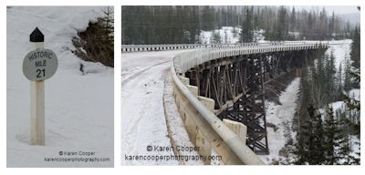 Karen Cooper - Kiskatinaw Bridge