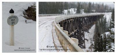Karen Cooper - Kiskatinaw Bridge